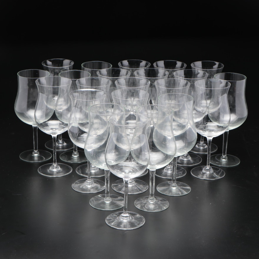 Glass Wine Glasses, Late 20th to Early 21st Century