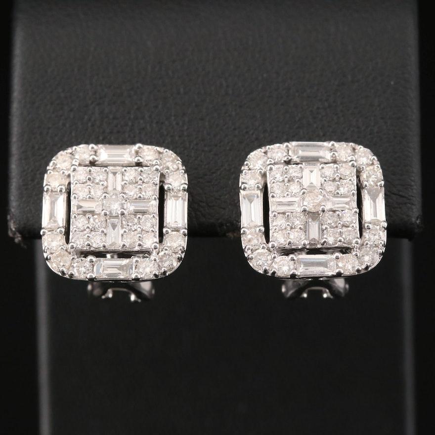 14K 2.32 CTW Diamond Earrings