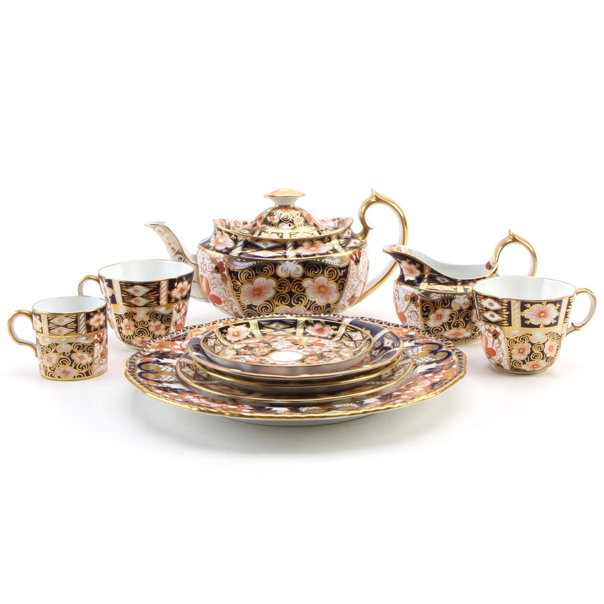 "Royal Crown Derby ""Traditional Imari"" Bone China Tableware"