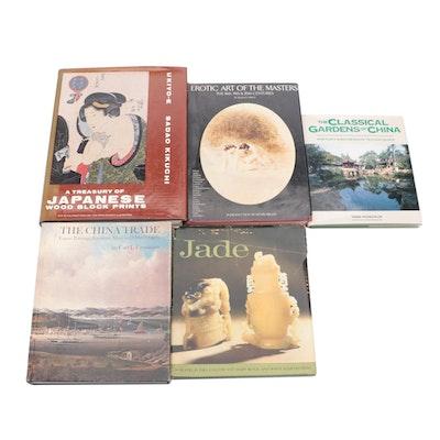 "Asian Art Books with Kikuchi's ""A Treasury of Japanese Woodblock Prints"""