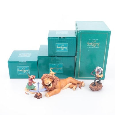 "Walt Disney Classics Collection ""The Lion King"" Figurines"