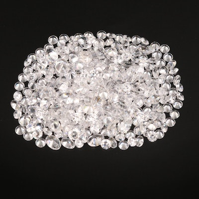 Loose Mixed Faceted Cubic Zirconia