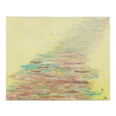 Thomas McCauley Abstract Oil Painting, 2004