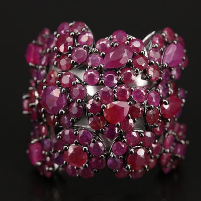 Sterling Ruby Cluster Ring