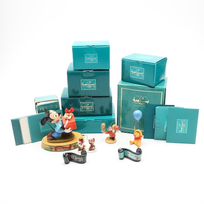 """Walt Disney Classics Collection """"Mickey Mouse"""" and Other Character Figurines"""
