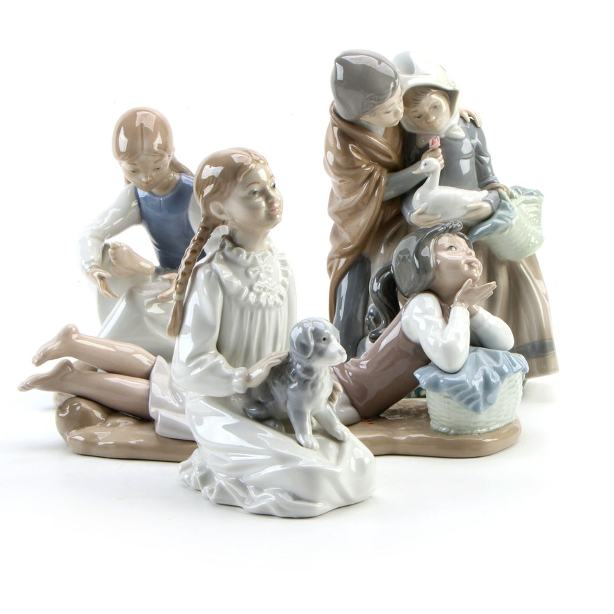 """Nao by Lladró """"Soñadora"""" and More Porcelain Figurines"""