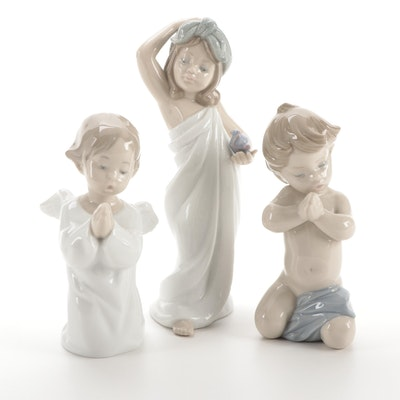 """Lladró """"Just Like New"""" and Other Porcelain Figurines"""