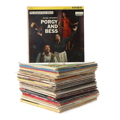 """""""West Side Story,"""" """"My Fair Lady,"""" """"Hair,"""" and More Soundtrack Vinyl LP Records"""