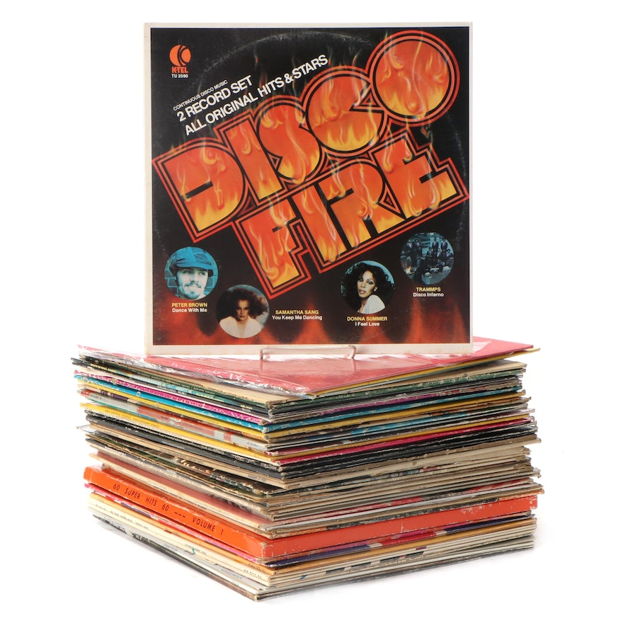 """""""Hooked On Classics II"""", """"20 Reggae Classics"""", Other LP Compilation Records"""