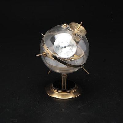 West German Desk Weather Station Thermometer, Barometer and Hygrometer