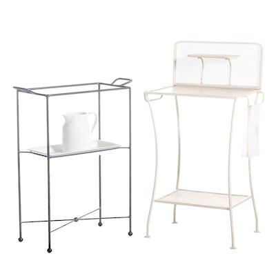 Metal Patio Potting Table and Display Stand