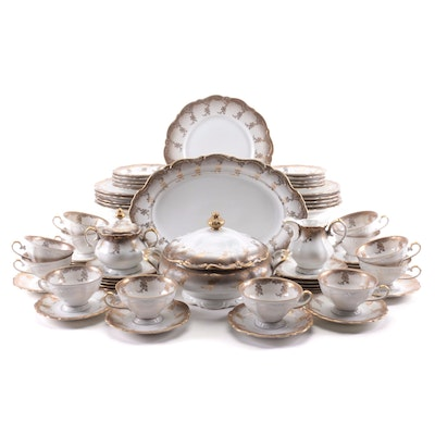 """Meissmen """"Magnificat"""" Dinnerware and Serving Pieces, Early to Mid 20th Century"""