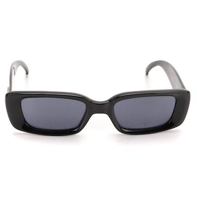 Gucci GG 2409/N/S Rectangular Prescription Sunglasses in Black with Case