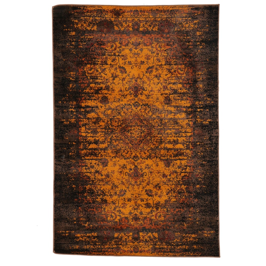 """4' x 6' Machine Made Unique Loom """"Istanbul"""" Collection Area Rug, 2010s"""