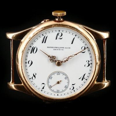 Patek Philippe & Cie 14K Stem Wind Wristwatch