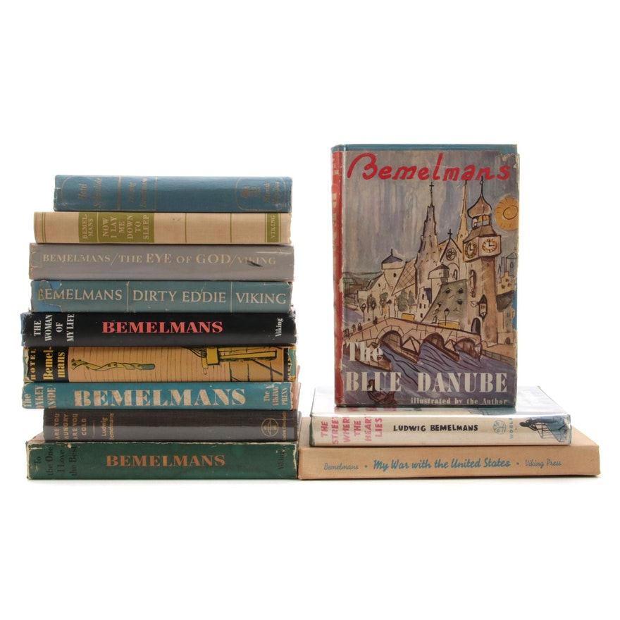 """First Edition """"The Street Where the Heart Lies"""" and More Ludwig Bemelmans Novels"""