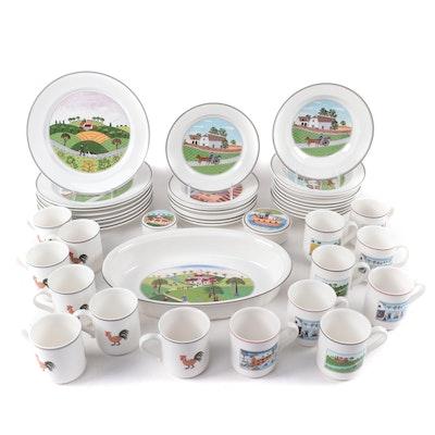 "Villeroy & Boch ""Design NaÏf"" Porcelain Dinnerware Collection"
