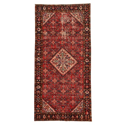5'3 x 10'7 Hand-Knotted Persian Lilihan Area Rug