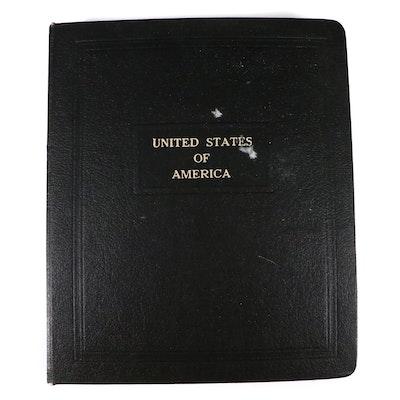 U.S. Postage Stamp Plate Block Album