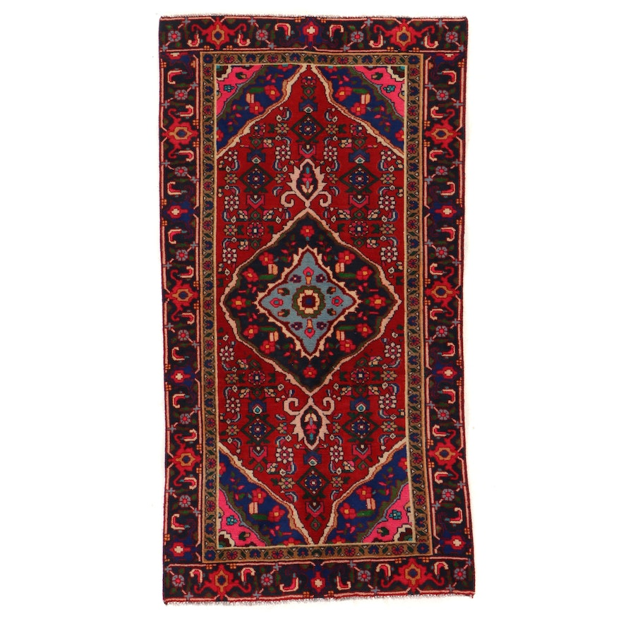 3'6 x 6'10 Hand-Knotted Persian Tabriz Area Rug
