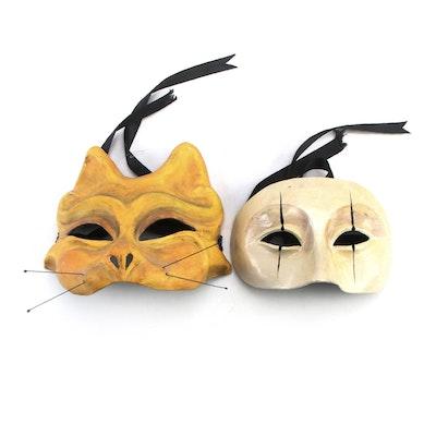 Gabriel Quirk New Orleans Papier-Mâché Masks
