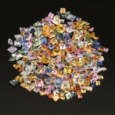 Loose Faceted and Bagette Sapphires