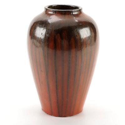 Italian Drip Glaze Ceramic Vase