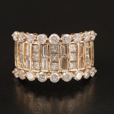 14K 2.78 CTW Diamond Ring