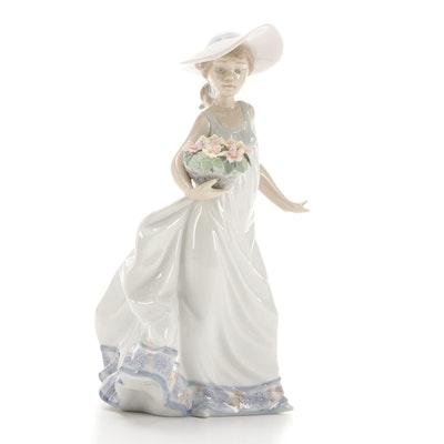 "Lladró ""Carefree"" Porcelain Figurine Designed by Regino Torrijos"
