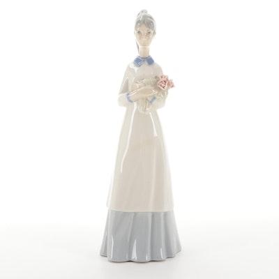 Porcelanas Miquel Requena Porcelain Figurine, Late 20th Century