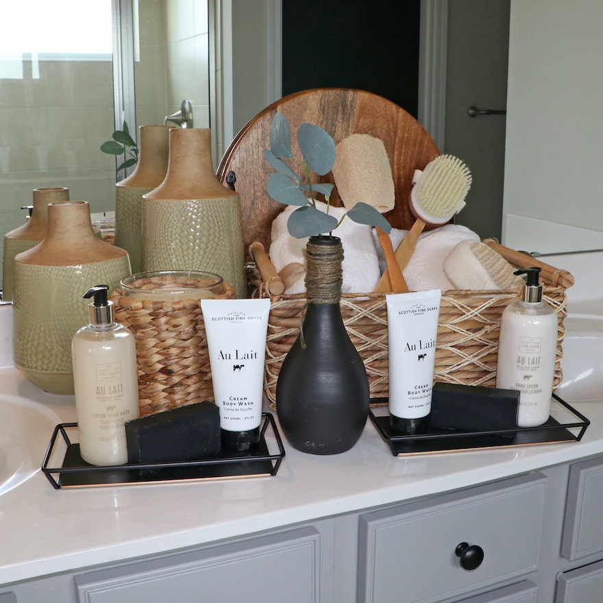 Hearth & Hand Vanity Trays, Spa Sister Bath Brushes, Lotions, Decor and More