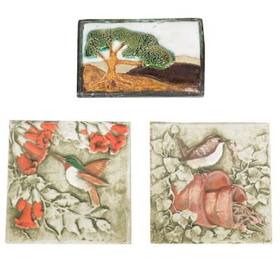 Irie Lights Candles and Burley Clay Ceramic Decorative Tiles