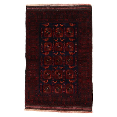 3'11 x 6'3 Hand-Knotted Persian Baluch Area Rug