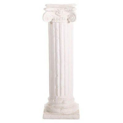 Neoclassical Style Ionic Column Pedestal