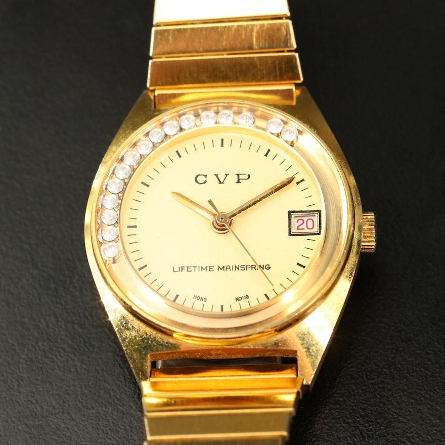 CVP Lifetime Mainspring Wristwatch