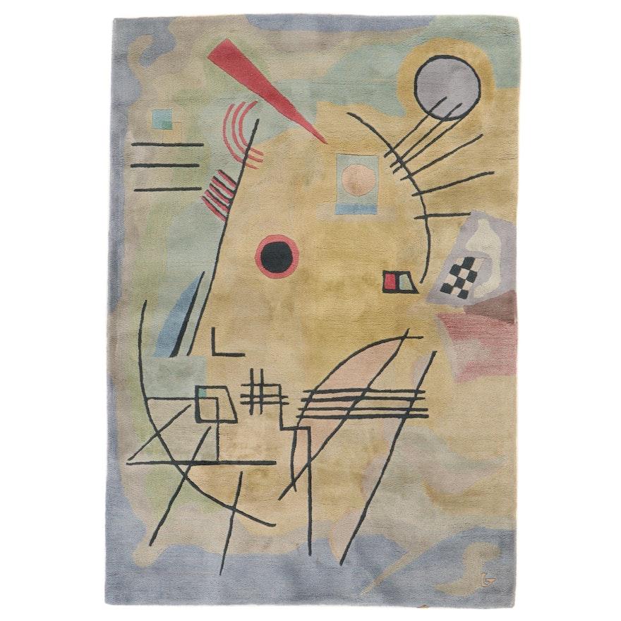 "5'4 x 7'8 Hand-Tufted Nourison ""Guggenheim Arts Collection"" Kandinsky Area Rug"