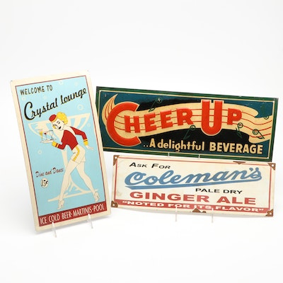 """""""Cheer Up"""" and More Advertising Signs"""
