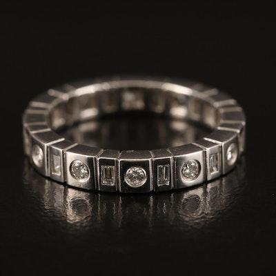 Platinum Diamond Eternity Band