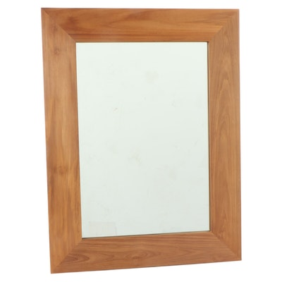 "24"" Teak Vanity Mirror in Natural Finish"