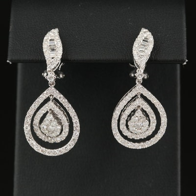 14K 2.61 CTW Diamond Earrings