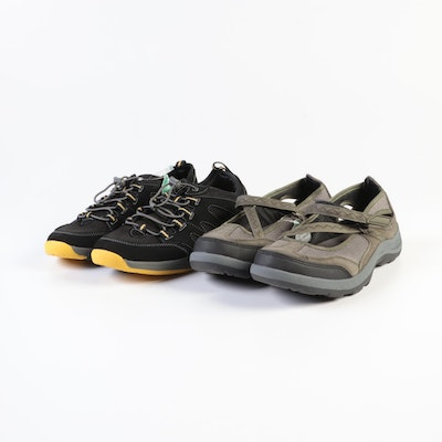 Land's End Trekker Mary Janes and Water Oxfords