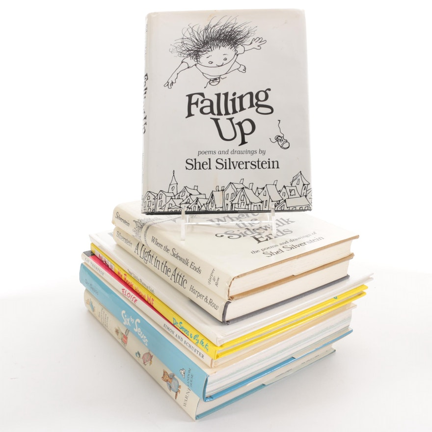 """First Edition """"Falling Up"""" by Shel Silverstein and More Children's Books"""