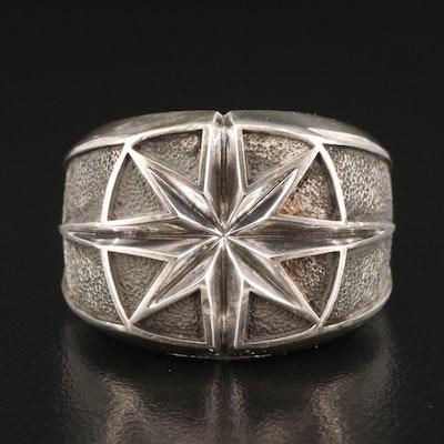 "David Yurman ""Maritime North Star"" Sterling Sterling Ring"