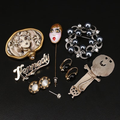 Collection of Jewelry Including Artist Signed Pieces