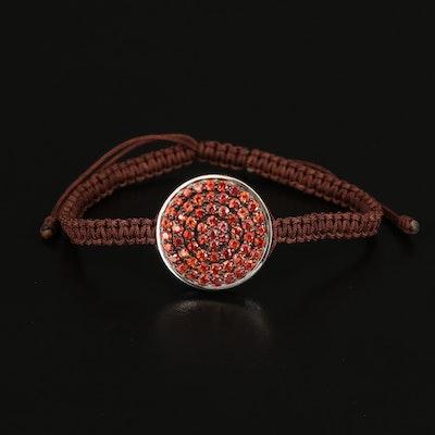 Sterling Sapphire Bracelet