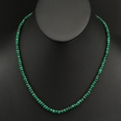 Corundum Beaded Necklace