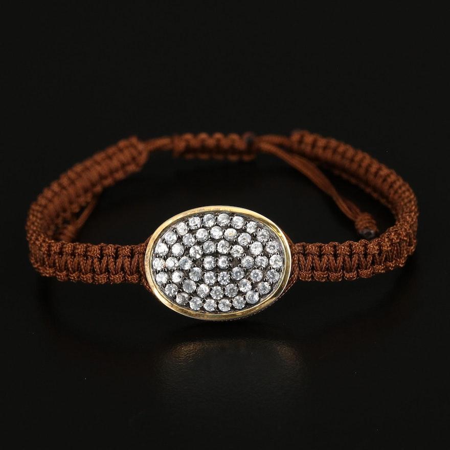 Sterling Zircon Bracelet