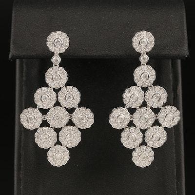 14K 2.74 CTW Diamond Earrings