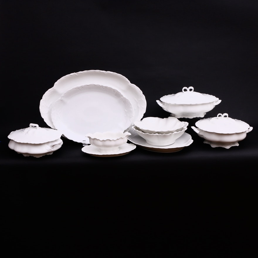 """Haviland & Co. """"Ranson"""" and Other Continental Porcelain Serveware"""