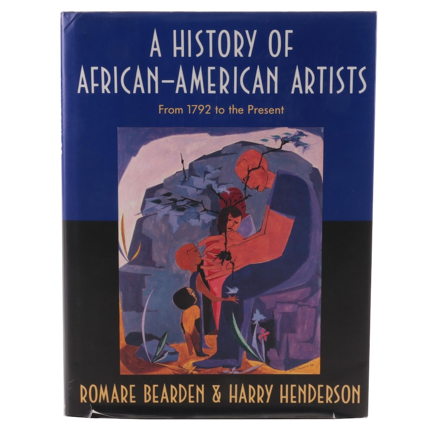 """First Edition """"A History of African American Artists,"""" 2003"""